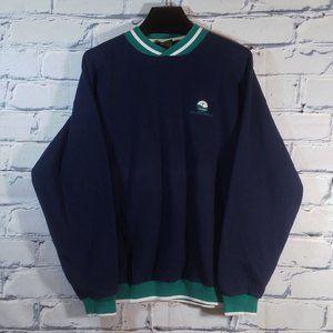 VTG Pullover Sweatshirt Crystal Springs Ribbed-Cuf